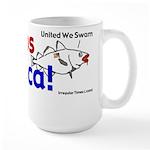Cod Lips America Large Mug