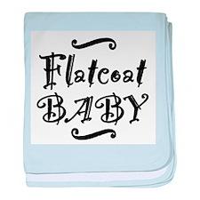 Flatcoat BABY baby blanket