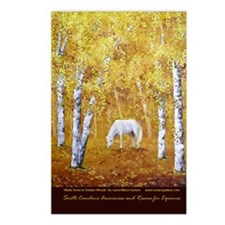 Equine Art Postcards (Package of 8)