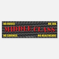 Middle Class (Touring) Bumper Bumper Sticker