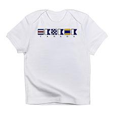 Nautical Canada Infant T-Shirt