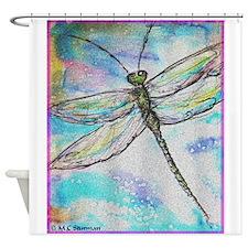 Dragonfly! Beautiful art! Shower Curtain