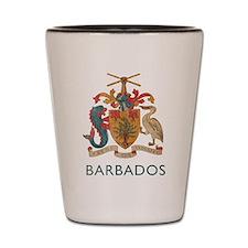 Vintage Barbados Shot Glass