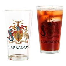 Vintage Barbados Drinking Glass