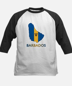 Map Of Barbados Tee