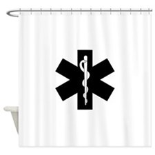 EMS Star of Life Shower Curtain