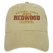 Redwood National Park CA Baseball Cap