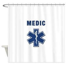 Medic and Paramedic Shower Curtain