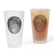Cool Full moon Drinking Glass