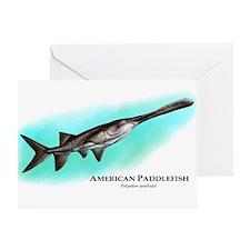 American Paddlefish Greeting Card