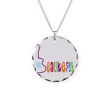 Beaukeful Uke Necklace Circle Charm