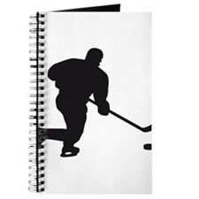 Cute Ice hockey team Journal