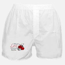 Biker Love Boxer Shorts