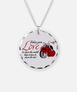 Biker Love Necklace