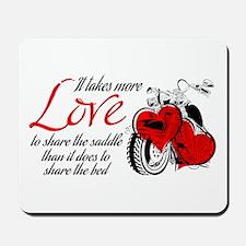Biker Love Mousepad