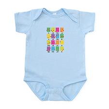 Chord Cheat Tee White Infant Bodysuit