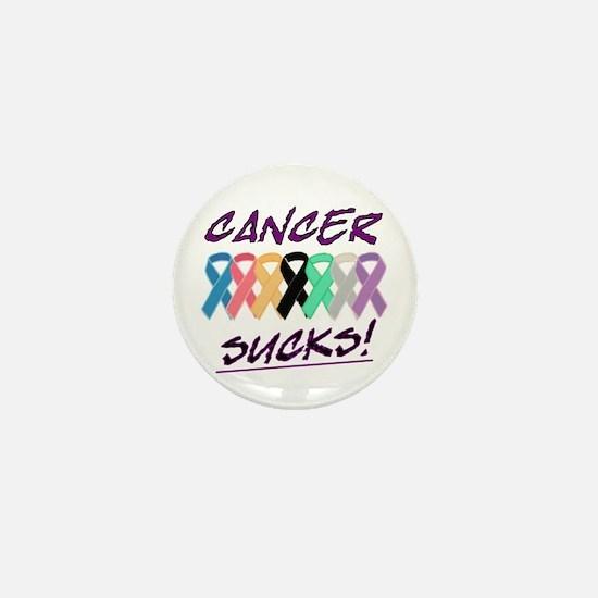 Cancer Sucks Mini Button