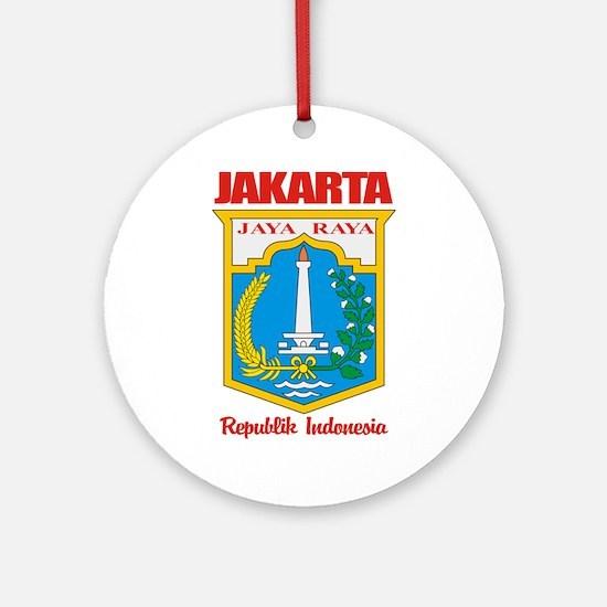 """Jakarta"" Ornament (Round)"