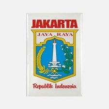 """Jakarta"" Rectangle Magnet"