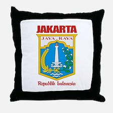 """""""Jakarta"""" Throw Pillow"""
