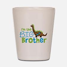 Dinosaur Big Brother Shot Glass