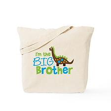 Dinosaur Big Brother Tote Bag