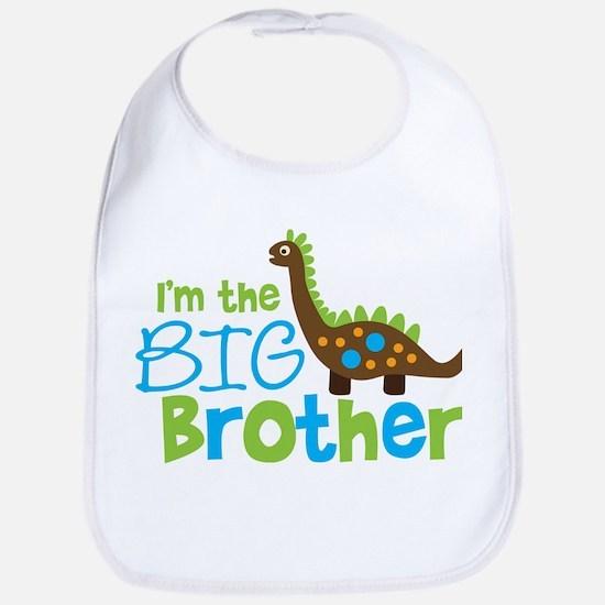 Dinosaur Big Brother Bib
