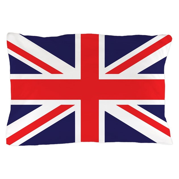 Union Jack Pillow Case By Zpuk