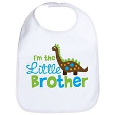 Dinosaur Little Brother Bib