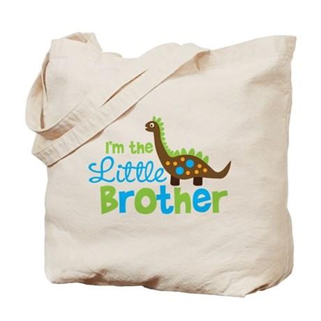 Dinosaur Little Brother Tote Bag