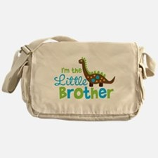Dinosaur Little Brother Messenger Bag