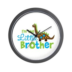 Dinosaur Little Brother Wall Clock