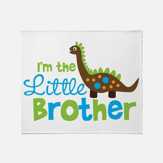 Dinosaur Little Brother Throw Blanket