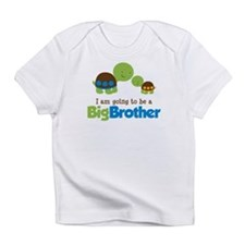 Turtle going to be a Big Brother Infant T-Shirt