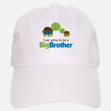 Turtle going to be a Big Brother Baseball Baseball Cap