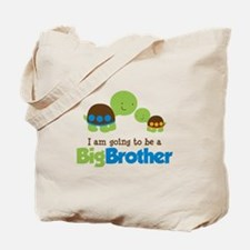 Turtle going to be a Big Brother Tote Bag