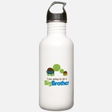 Turtle going to be a Big Brother Sports Water Bottle