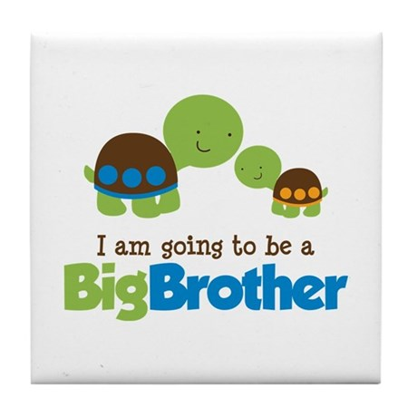 Turtle going to be a Big Brother Tile Coaster