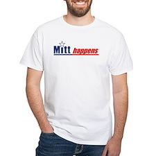 """Mitt Romney """"Mitt Happens"""" - Shirt"""