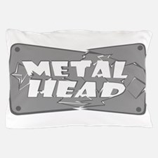 Metal Head Pillow Case