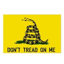 Gadsden Traditional Flag Postcards (Package of 8)