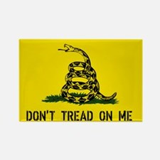 Gadsden Traditional Flag Rectangle Magnet (10 pack