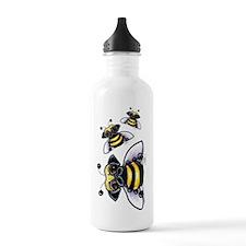 Cute Pug Bee Water Bottle