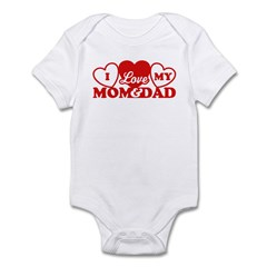 I Love My Mom and Dad Infant Bodysuit