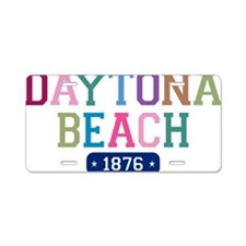 Daytona Beach 1876 Aluminum License Plate