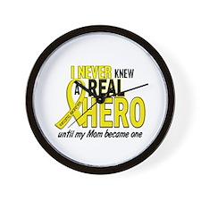 Real Hero Sarcoma Wall Clock