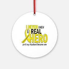 Real Hero Sarcoma Ornament (Round)