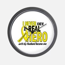 Real Hero Sarcoma Wall Clock