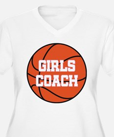 Girls Basketball Coach Gift T-Shirt