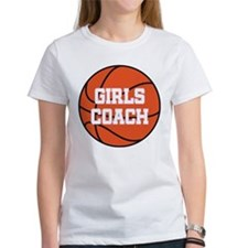Girls Basketball Coach Gift Tee